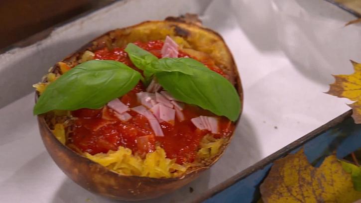 To musíte ochutnat! Dýňové špagety s fofr rajčatovou omáčkou
