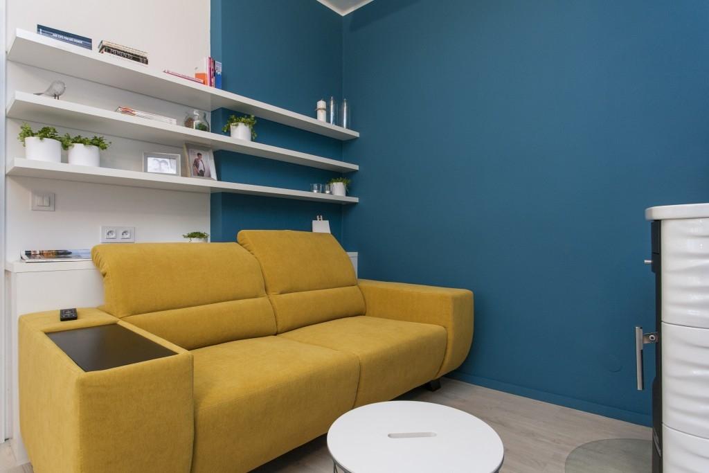Proměna bytu pro malířku