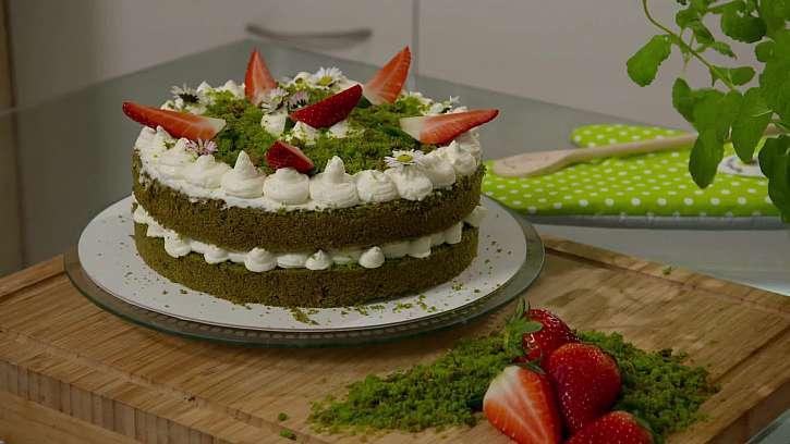 Recept na netradiční mechový dort