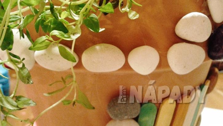 DIY ozdobný květináč na bylinky: dokončení