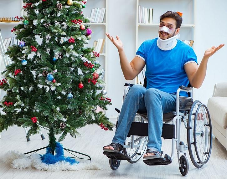 Časté nehody o Štědrém dnu a jak se jim vyhnout (Zdroj: Depositphotos)