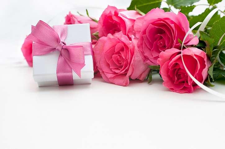 Růže, dárek