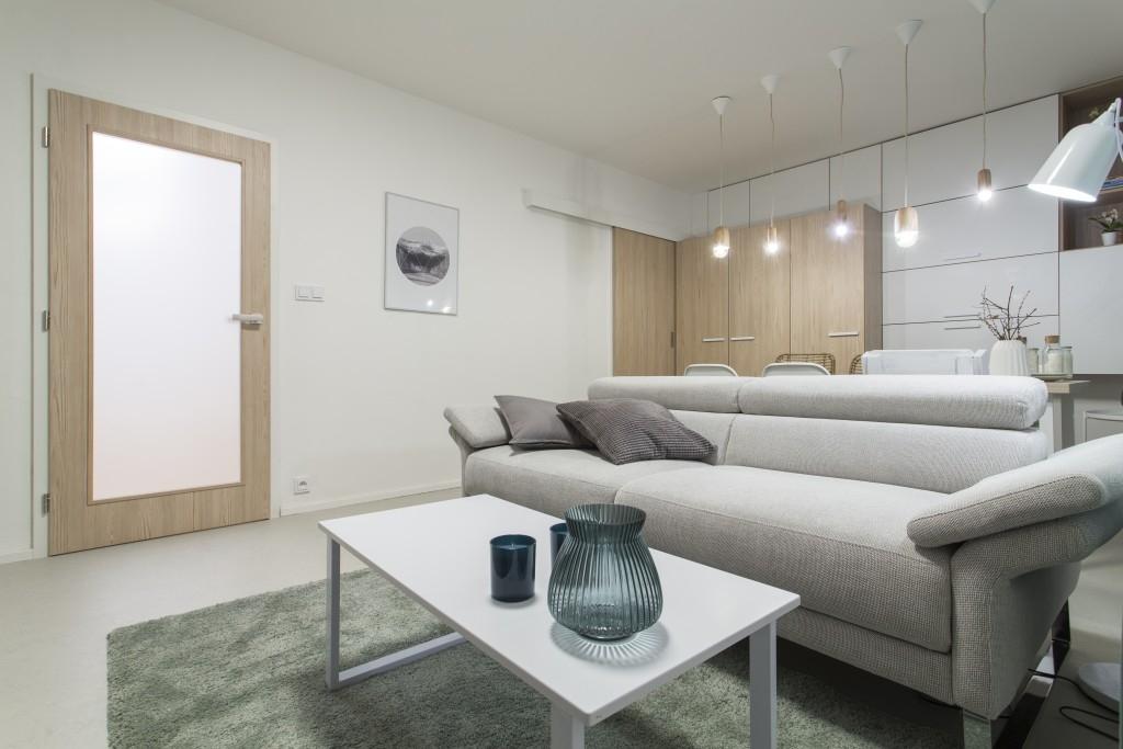 Proměna čtyřpokojového bytu na sídlišti