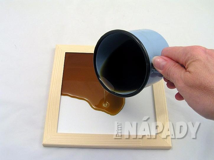 Mazací tabulka z vosku: nalijte vosk