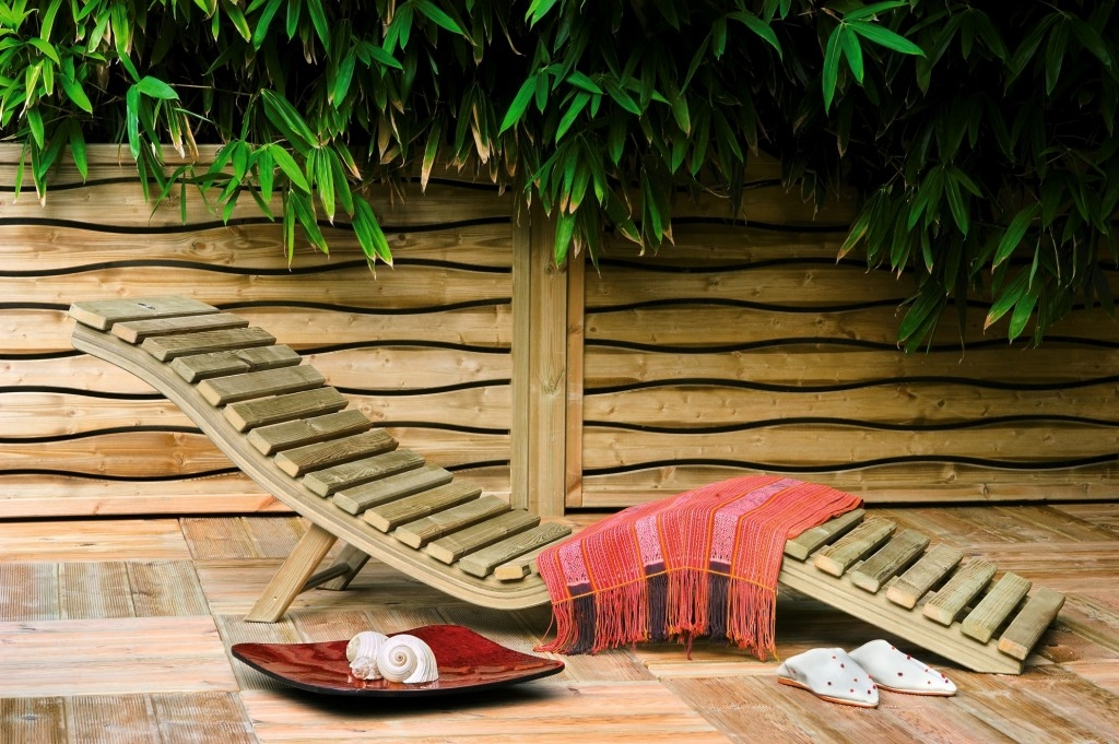 Montáž dřevěné zahradní terasy