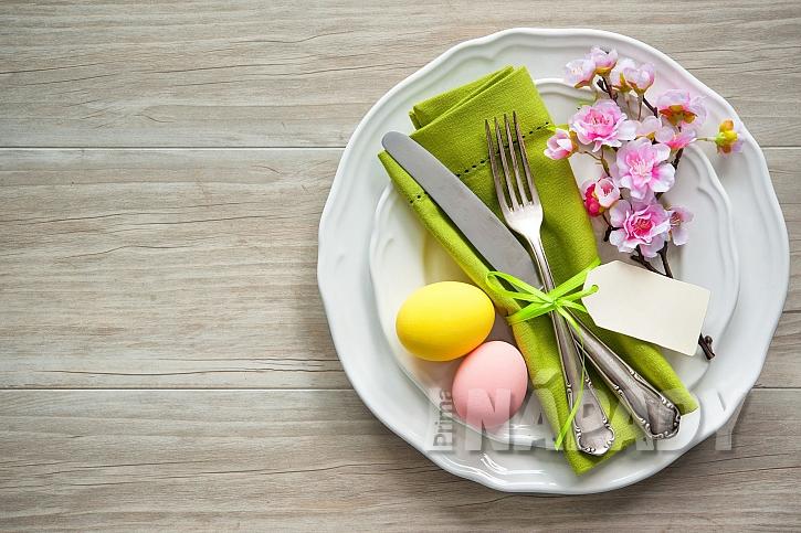 Dekorace na talíři