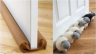 Ucpávky pod dveře: Nedovolte průvanu, aby vám vklouznul do domu