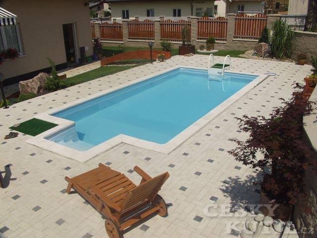 Bazény na zahradě – zapuštěné