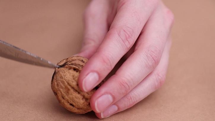 Rozloupnutí ořechů