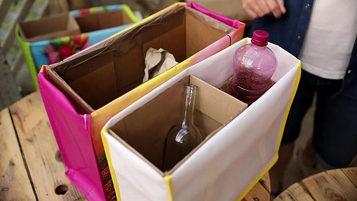 Vychytané boxíky na tříděný odpad