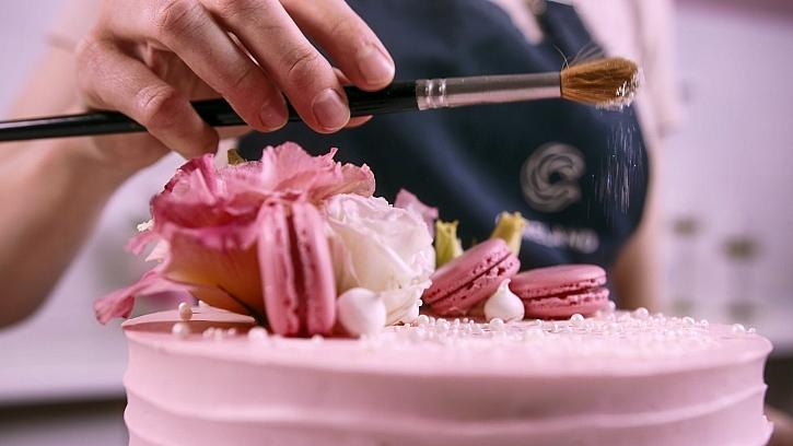 finalizace dortu