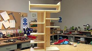 Jak vyrobit praktický botník ze dřeva