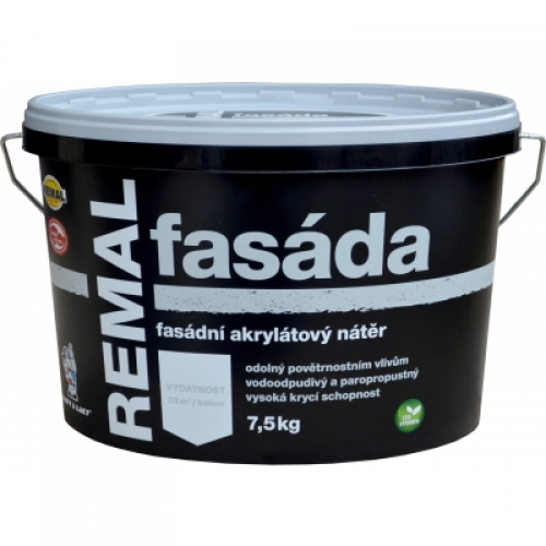 Remal Fasáda fasádní barva 7,5 kg