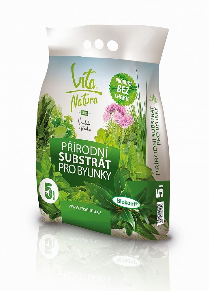 Vita Natura přírodní substrát pro bylinky