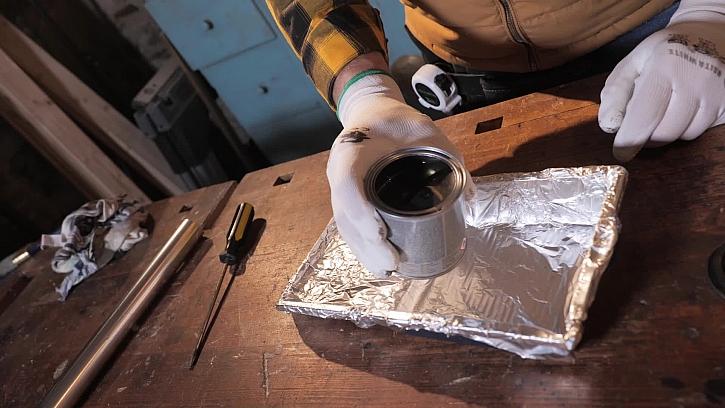 Jak natírat bez čištění nádoby na barvu