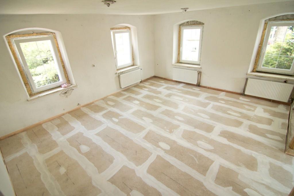 Rychlá rekonstrukce podlahy