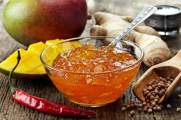 Mango-zázvorové chutney