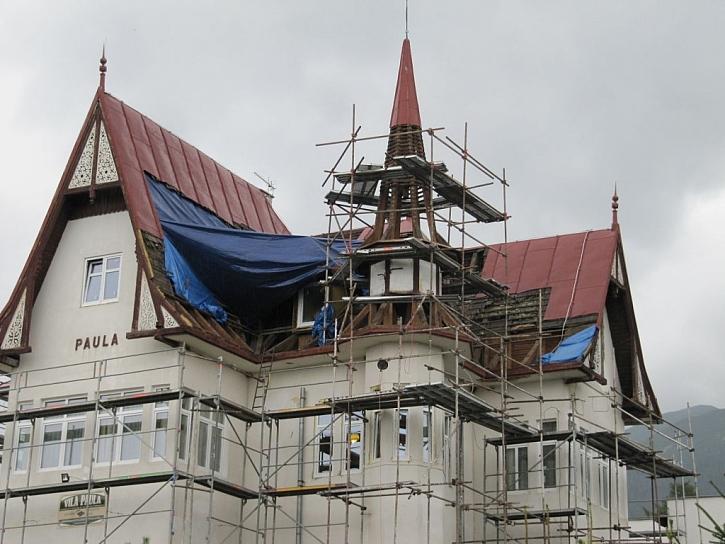 Vila Paula PŘED rekonstrukcí