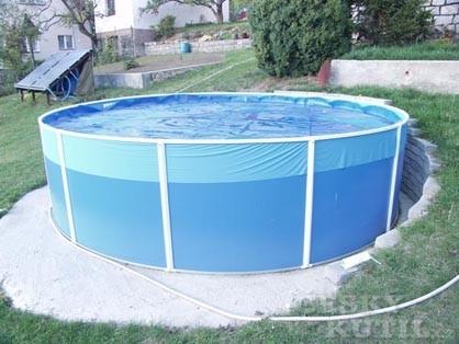 Bazény na zahradě – nadzemní bazény
