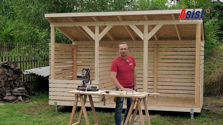 Kvalitní dřevník si dokáže vyrobit každý šikovný kutil (Zdroj: Prima DOMA)