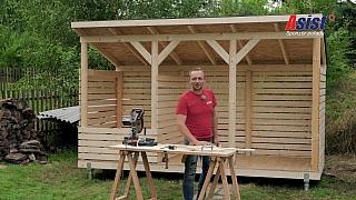 Kvalitní dřevník si dokáže vyrobit každý šikovný kutil