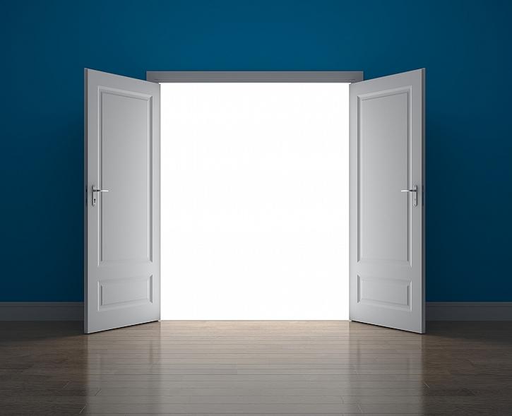 Dvojkřídlé dveře