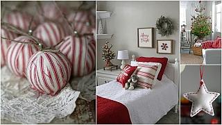 Vánoce podle tradice: V červené a bílé barvě