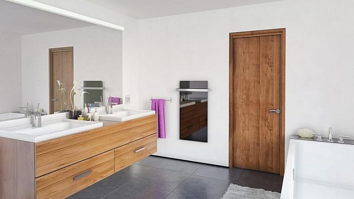 Inovovaný sálavý panel ECOSUN GS určený do místností s omezeným prostorem.