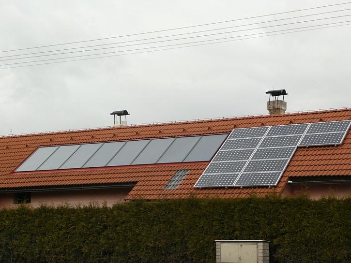 Využití solární energie – kolektory a fotovoltaika