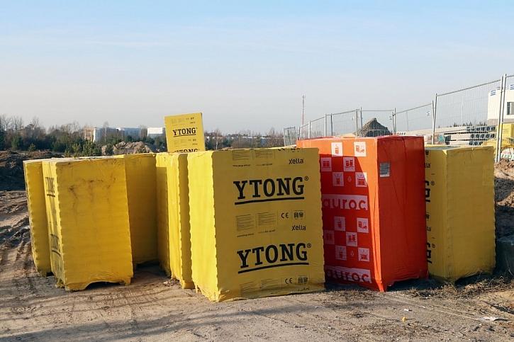 Ytong je lehký, tvarovatelný a použitelný na všechny typy zdí
