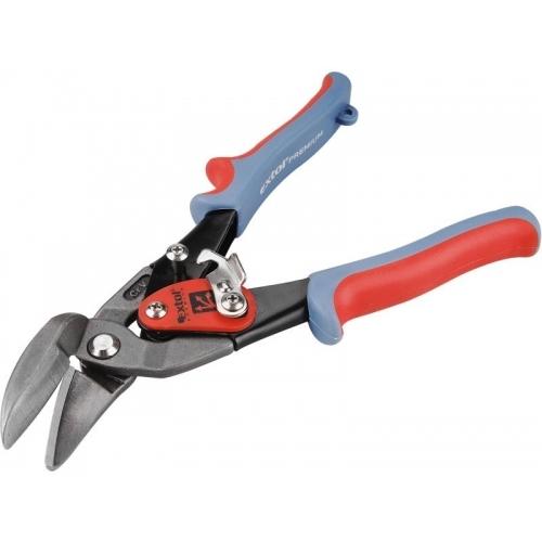EXTOL PREMIUM nůžky na plech převodové, 225mm, rovně a doprava