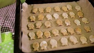 Sušenky pro pejsky z tuňáka