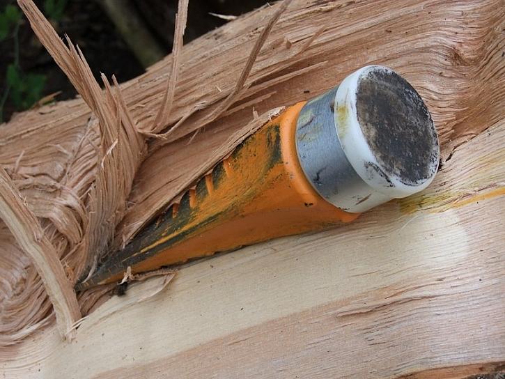 Nechte dřevo vytočit