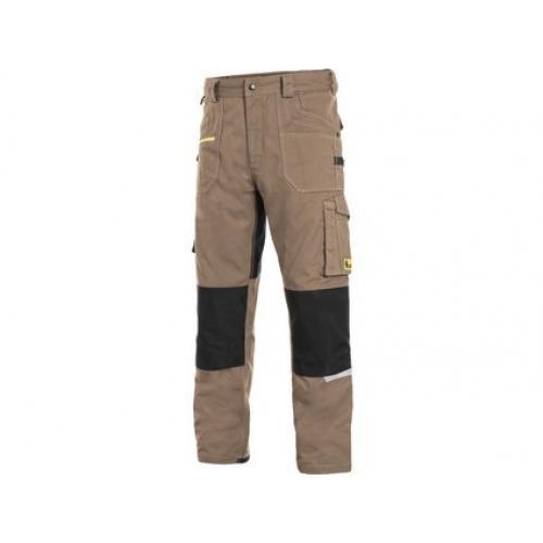 Kalhoty CXS STRETCH, pánské, béžovo-černé, vel. 46