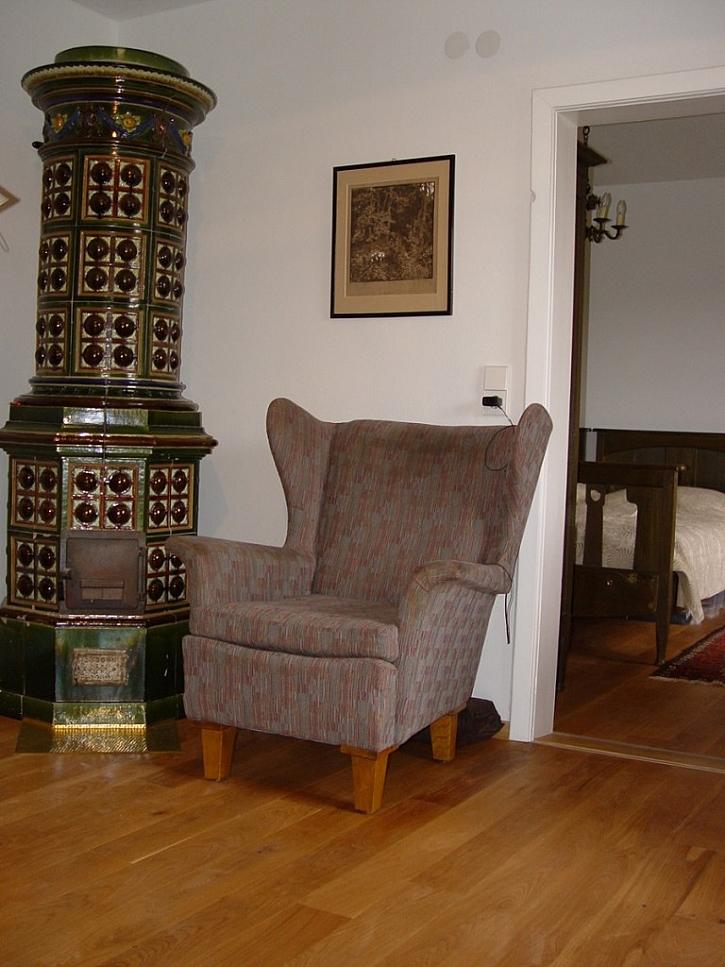 Dubová podlaha FEEL WOOD v kuchyni i obýváku