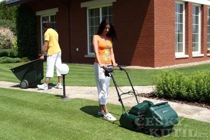 Vyzkoušejte si vřetenovku na svém trávníku
