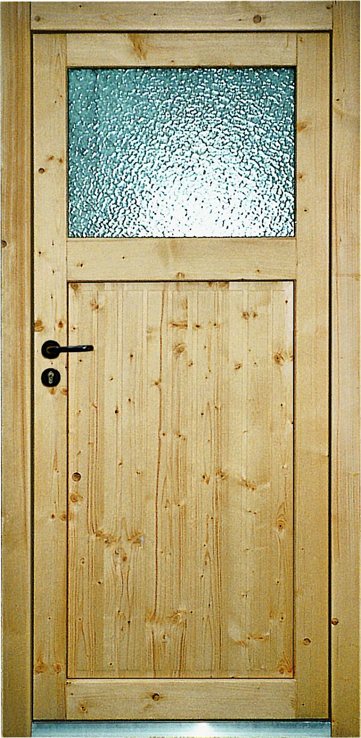Vchodové dveře dřevěné vedlejší