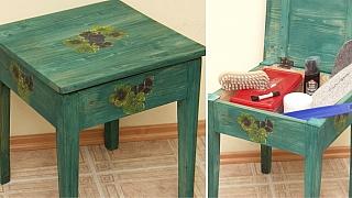 Jak vyrobit stoličku s nádechem patiny: Štokrle sluší každé chalupě