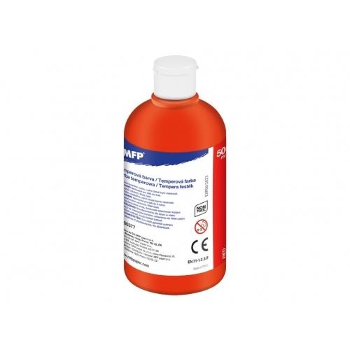MFP temperové barvy 500ml červená
