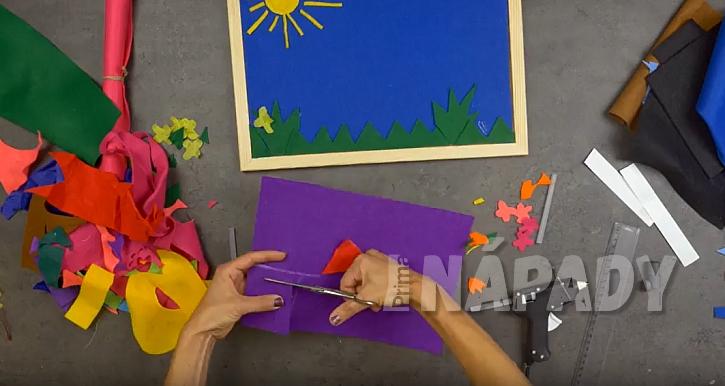 Magnetický obrázek pro děti: nalepte obrázky