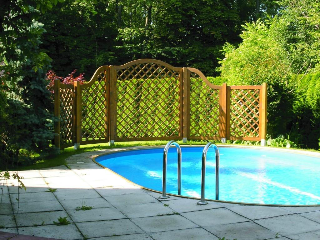 Dřevěné mříže, to nejlepší na pěstování popínavých rostlin