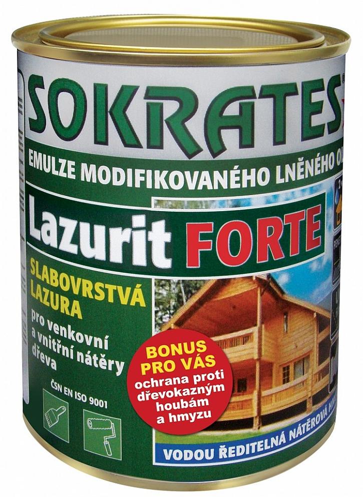 Povrchová úprava venkovních podkladů - dřevěných i kovových