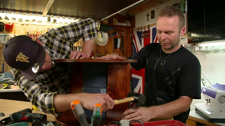 Vložení dřevěných desek