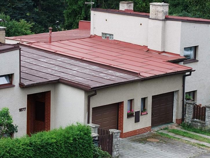 Recept na barvu pro natírání plechové střechy