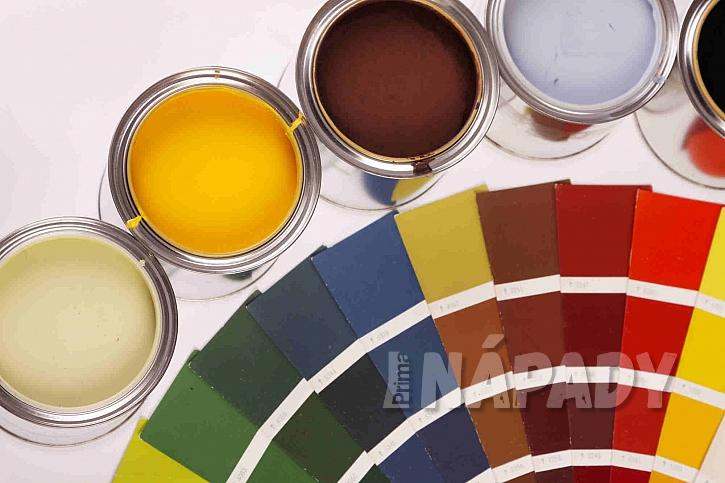 Výběr barev