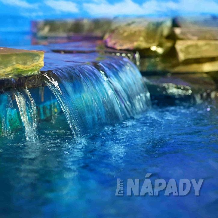 Uměle vytvořený vodopád