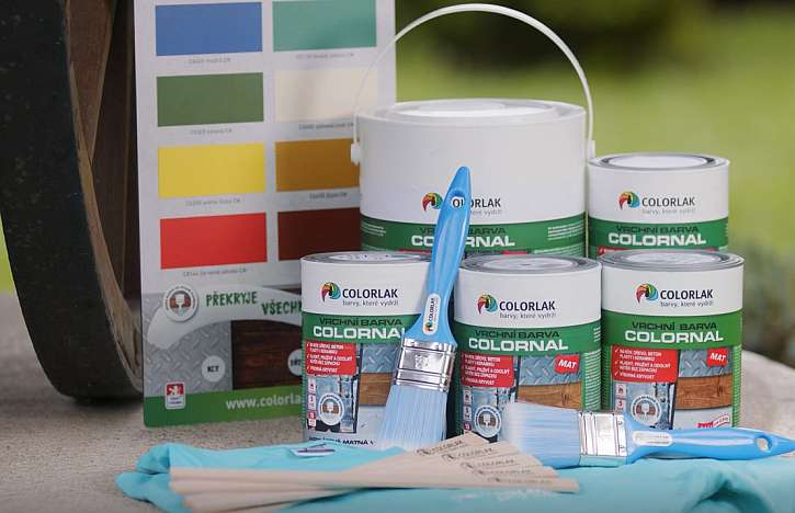 Soutěž z Receptáře: Vyhrajte rychleschnoucí barvu COLORNAL MAT
