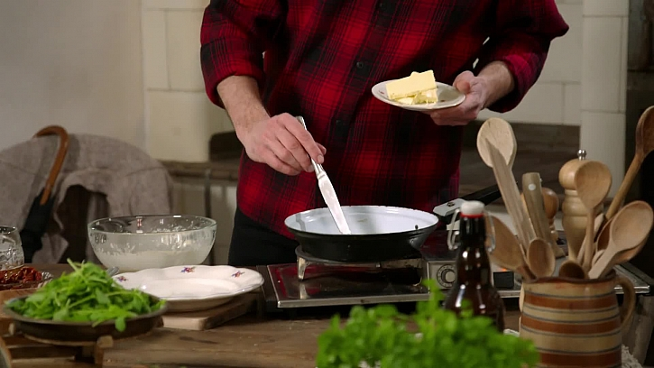 Rozpuštění másla