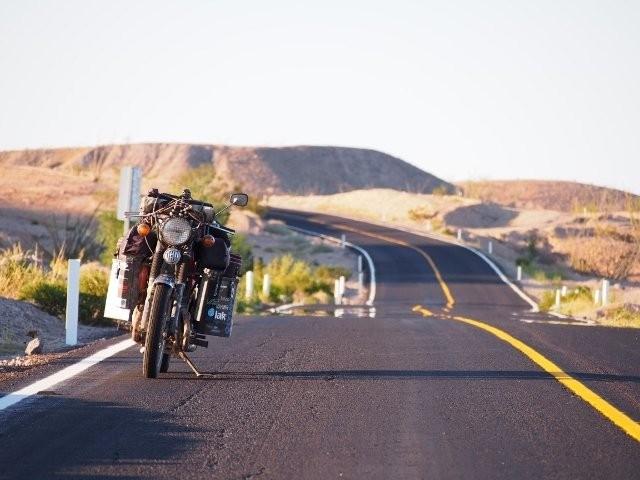 Zabezpečení motorky