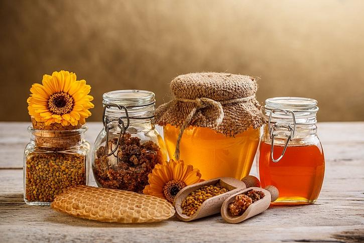 Včelí produkty jsou pro lidský organismus nezbytné (Zdroj: Depositphotos)